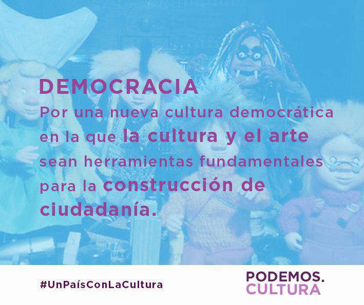 Documento Programático De Cultura Y Comunicación Elecciones