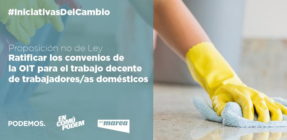 OIT trabajo doméstico PNL