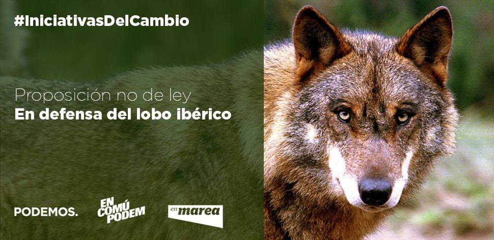 PNL en defensa del lobo ibérico