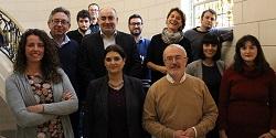 Los 12 parlamentarios de Podemos en las Cortes Valencianas