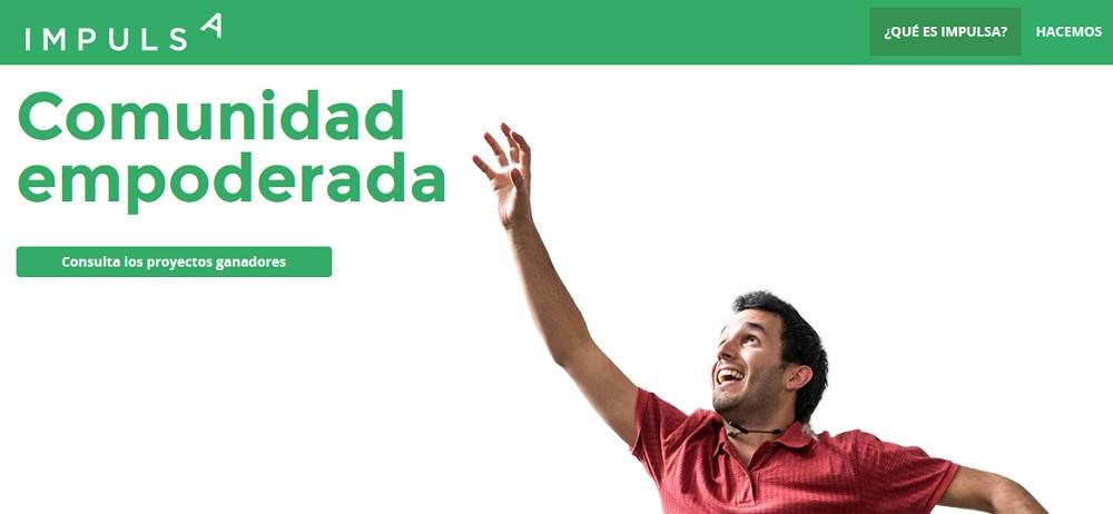 Banner Impulsa, comunidad empoderada, Miguel Ardanuy