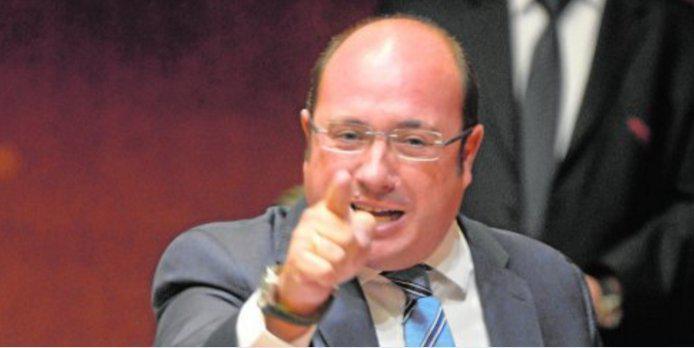 Pedro Antonio Sánchez, Presidente de la Región de Murcia (PP)