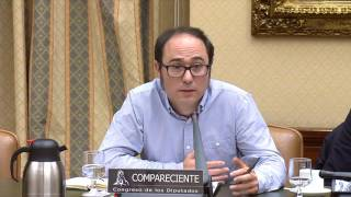 Comparecencia del Responsable de Finanzas y Transparencia de Podemos, Daniel de Frutos