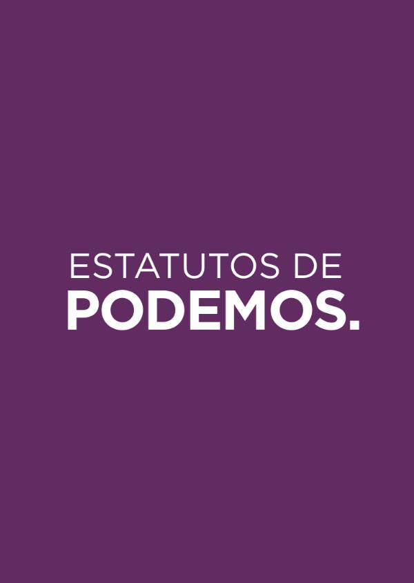 Estatutos de Podemos
