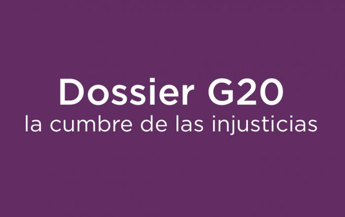 Dossier G20