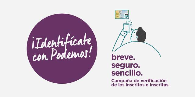 ¡Identifícate con Podemos!