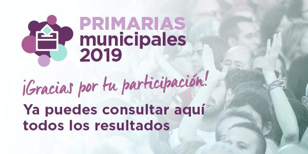 Primarias Municipales 2019
