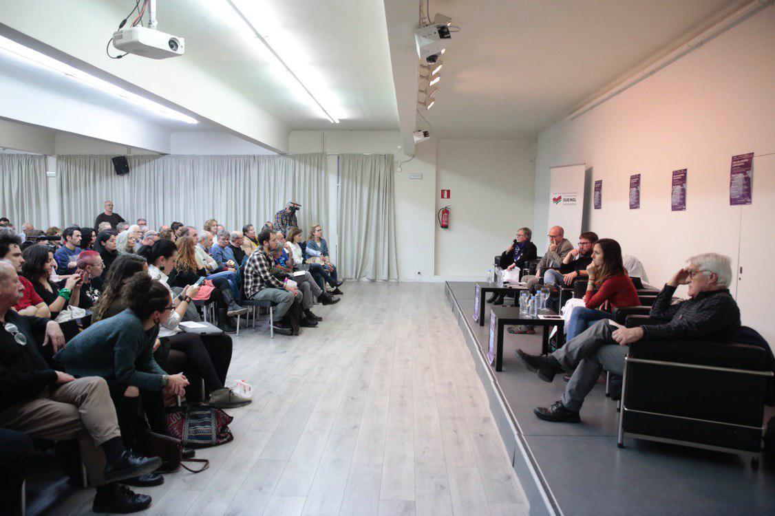 Acto celebrado esta tarde en el Círculo de Bellas Artes