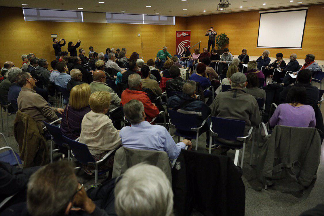 Encuentro en Mataró con los colectivos y activistas sociales. PODEMOS
