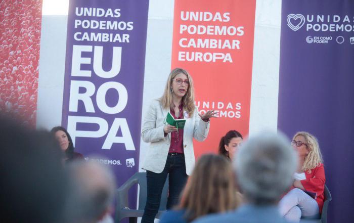 María Eugenia Rodríguez Palop durante su intervención este martes en Málaga. Foto: Irene Lingua