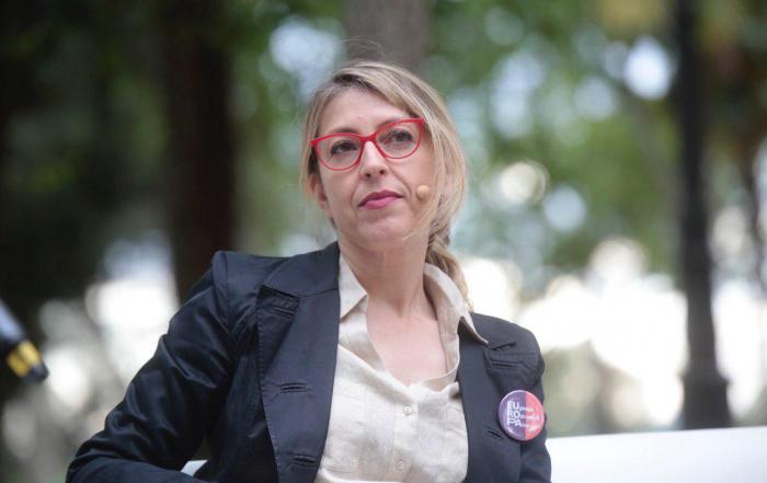 Rodríguez Palop, en el acto de este viernes en Madrid. FOTO: IRENE LINGUA
