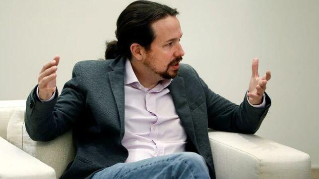 El líder de Unidas Podemos, Pablo Iglesias. EFE