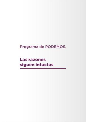 Consulta nuestro programa para las elecciones europeas del 26M